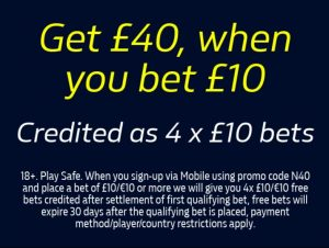 mobile offer william hill