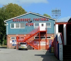 Aldershot Town Club Offices