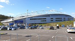 Amex Stadium Brighton - View From The Car Park