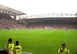 View From The Anfield Road Away Section
