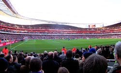 View From The Away Section At Emirates Stadium
