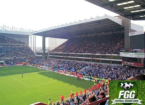View From the Away Section At Villa Park