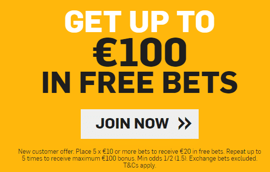 how to use free bet on betfair