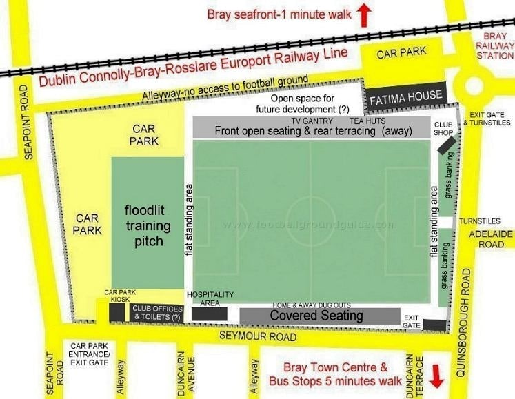 Ground Layout of Bray Wanderers