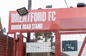 Brook Road Stand Sign