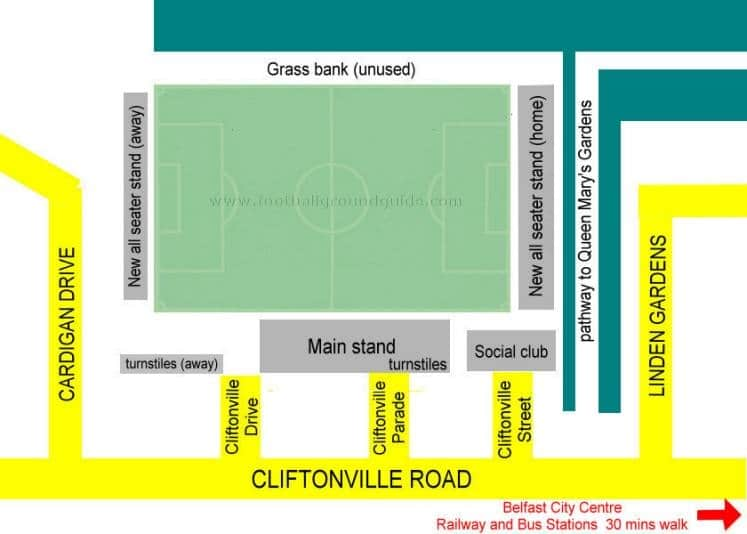 Ground Layout of Cliftonville