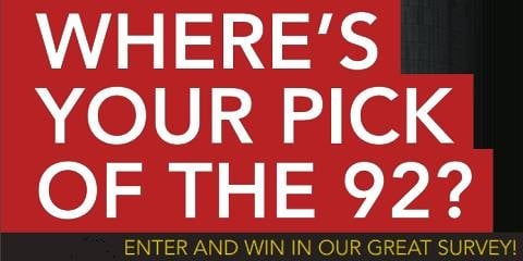 Take Part In Our Best of the 92 Survey