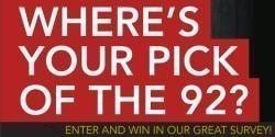 Where's Your Pick of The 92