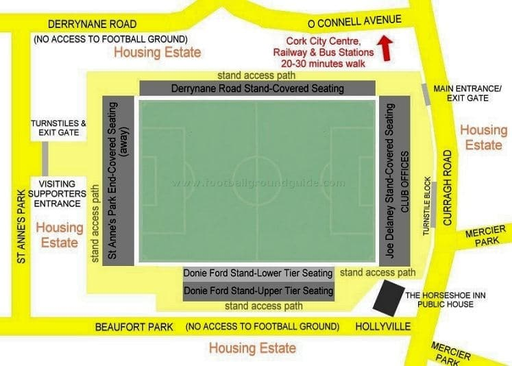 Ground Layout of Cork City