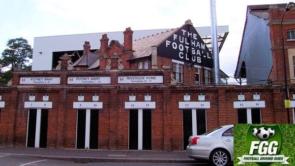 The Fulham Football Club Craven Cottage