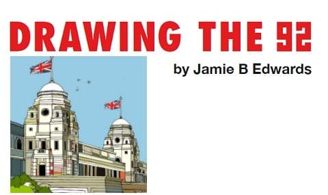 Drawing the 92 – Jamie B Edwards
