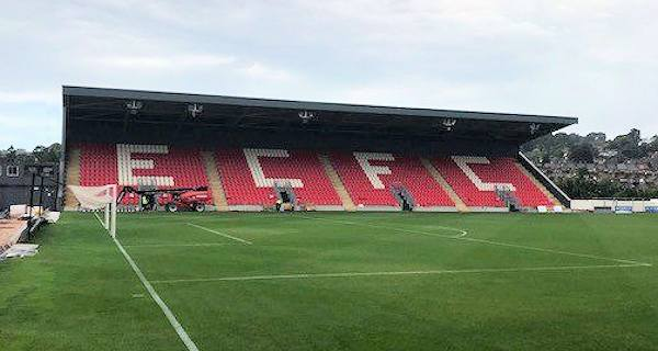 New Exeter City Grandstand