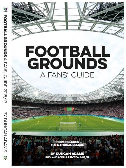 Football Grounds A Fans Guide Book Cover 2018