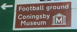 Football Ground Sign