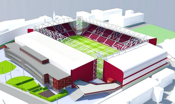 New Tynecastle Main Stand