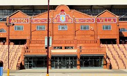Holte End Villa Park Entrance