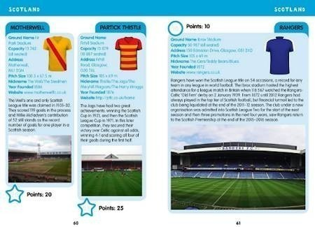 I-SPY Football Grounds Book Page