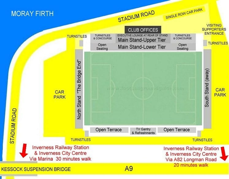 Ground Layout of Inverness CT