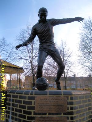 Laurie Cunningham Statue