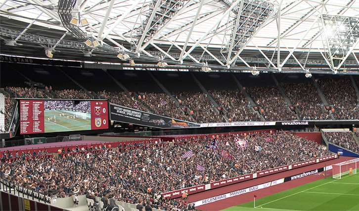 West Ham New Proposed Seating