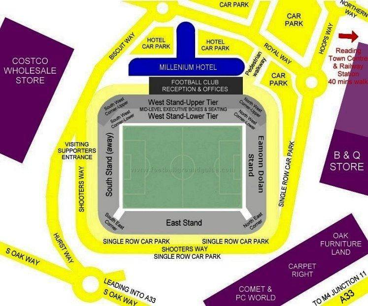 Ground Layout of Reading