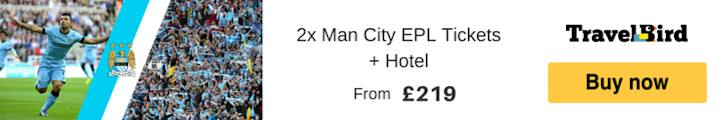 Manchester City Tickets and Hotel Packages