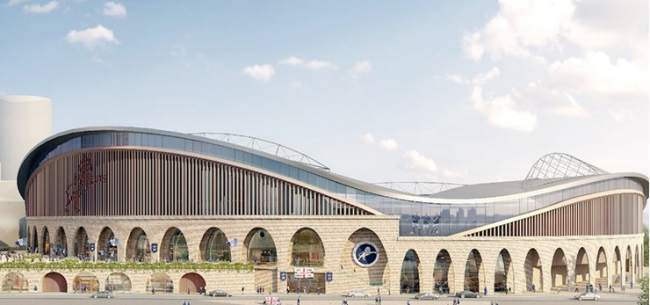 Proposed Expanded Millwall Stadium