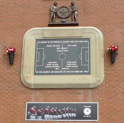 Munich Disaster Memorial Plaque