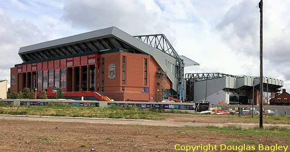 New Main Stand At Liverpool