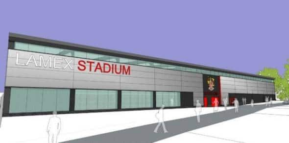 New North Stand