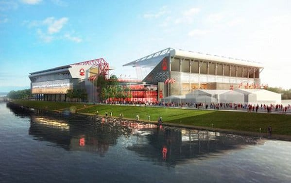 How The Stadium Will Look Externally With The New Stand