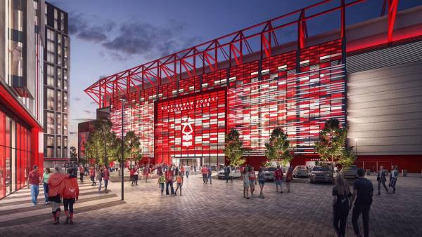 New Peter Taylor Stand Facade