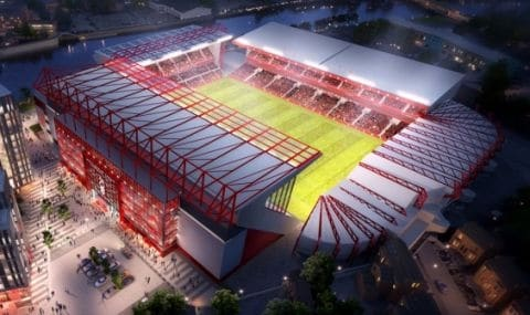 Nottingham Forest Submit Plans For New Main Stand