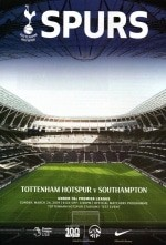 Matchday Programme Cover From The First Test Event