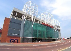 Old Trafford Manchester External View
