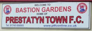 Prestatyn Town Welcome Sign
