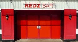 Redz Bar Entrance
