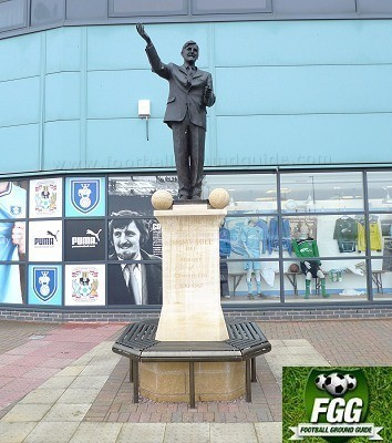 Jimmy Hill Statue At The Ricoh Arena