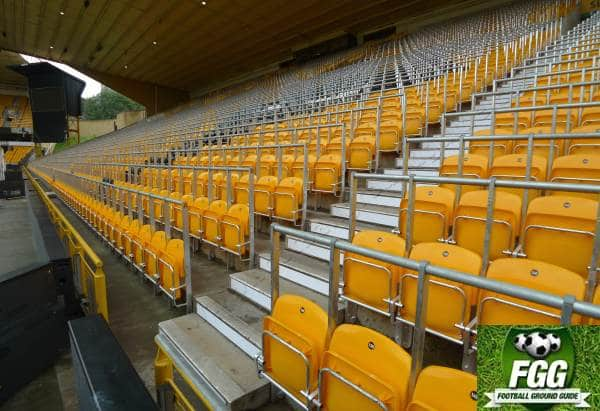 Safety Rails At Molineux Wolverhampton Wanderers