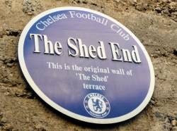 Shed End Blue Memorial Plaque