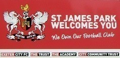 St James Park Welcomes You Sign