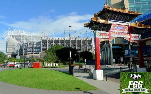 St James Park and Chinatown