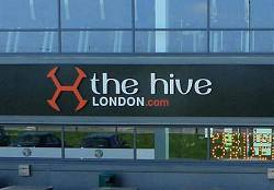 The Hive London Sign