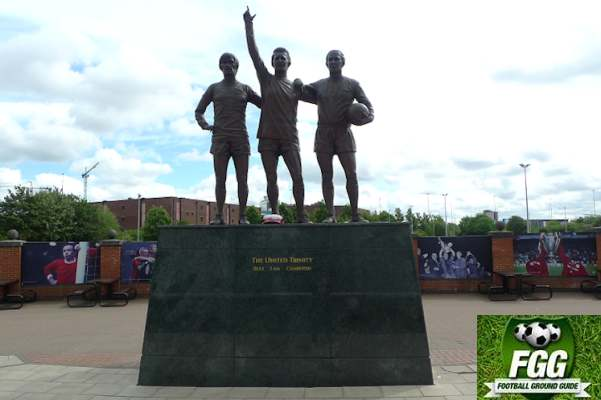United Trinity Statue, Best, Law, Charlton
