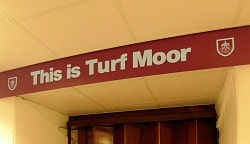 This Is Turf Moor Sign