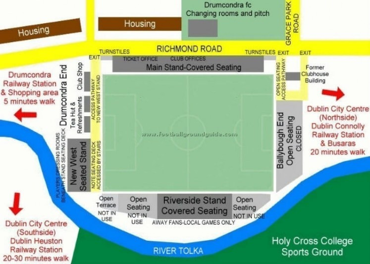 Ground Layout of Shelbourne