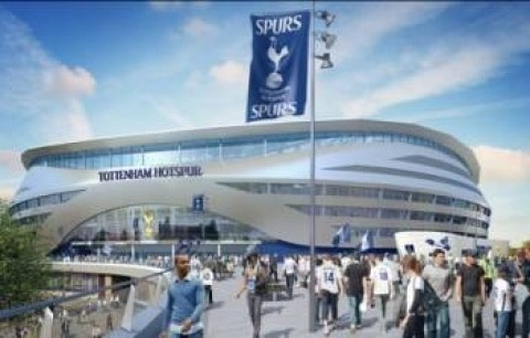 Spurs New Stadium – Works Gather Pace