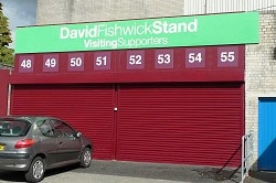 David Fishwick Stand Visiting Fans Entrance