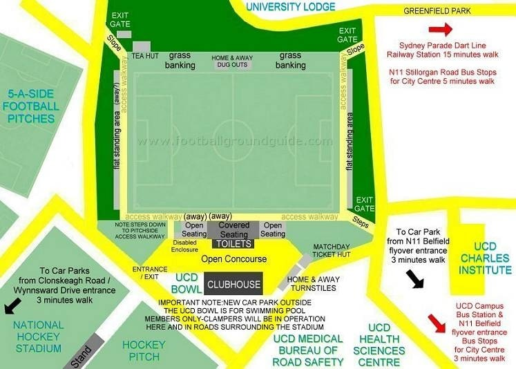Ground Layout of UCD