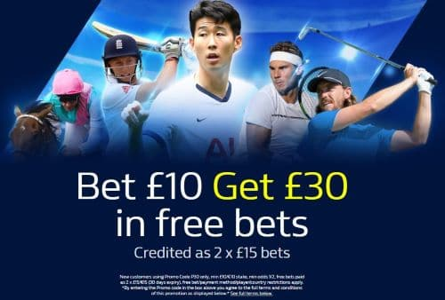 free bet valid for football